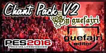 Chants Pack v2 for PTE 5.1 Pes 2016
