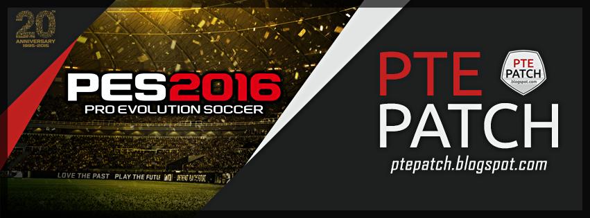 PTE patch pes 2016