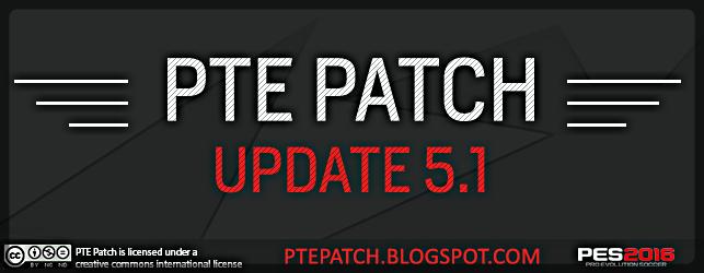 Patch PTE 5.1 Update