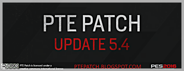 Patch PTE 5.4 for PES 2016