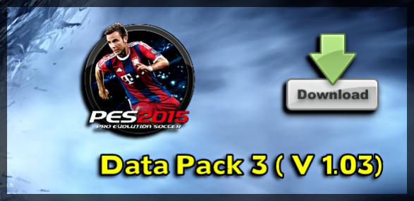 PES 2015 Data Pack 3