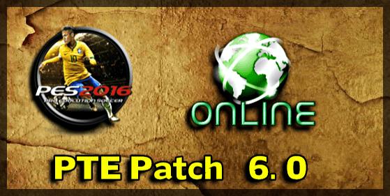 PTE Patch 6.0 Online (PES 2016)