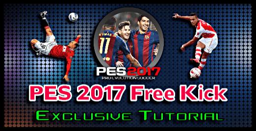 PES 2017 Free Kick Tutorial (PC, PS4, Xbox)