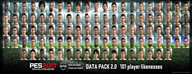 PES 2017 Data Pack 2 New Faces