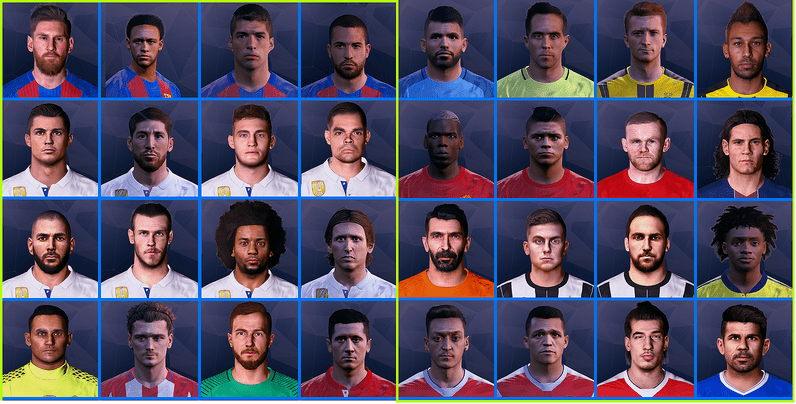 PES 2017 Ultra Pack Examples