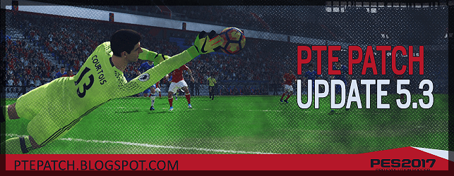 PTE Patch 5.3 Update for PES 2017 download and install on PC