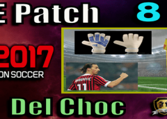 (PES 2017) PTE Patch 8.1 (Unofficial by Del Choc)